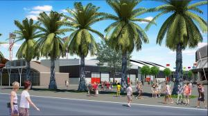 Artist impression of Sydney Showground expansion