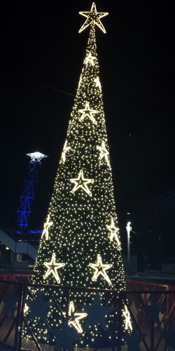 Christmas tree at Sydney Olympic Park