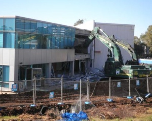 Demolition of existing building