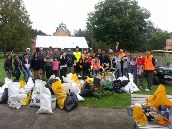 Community Group on Sunday at Clean Up Australia Day