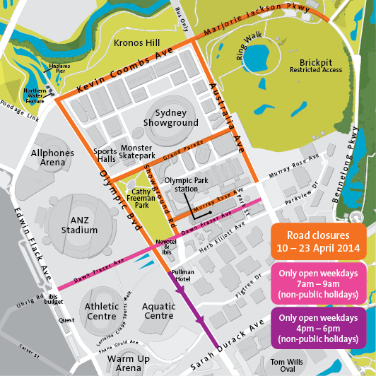 Royal Easter Show Map How to navigate the Park during the Royal Easter Show  Royal Easter Show Map