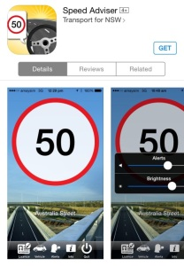 Image of Speed Adviser App for Phone