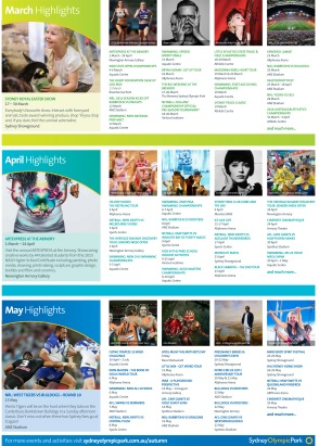 New design of What's On? brochure