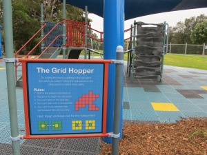The Grid Hopper Game instructions