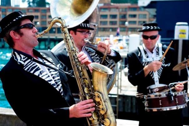 Hi Life Horns music trio
